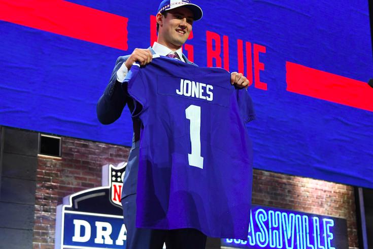 Daniel Jones Giants Draft