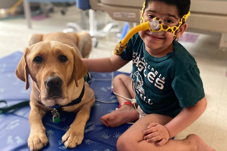 CHOP welcomes first facility dog