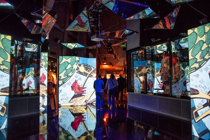 Doctor Strange Mirror Dimension at Marvel exhibit