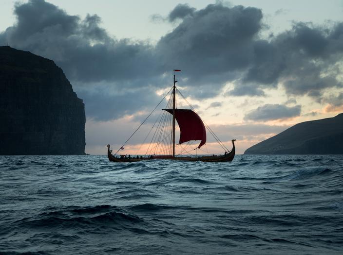Norwegian Viking ship Draken