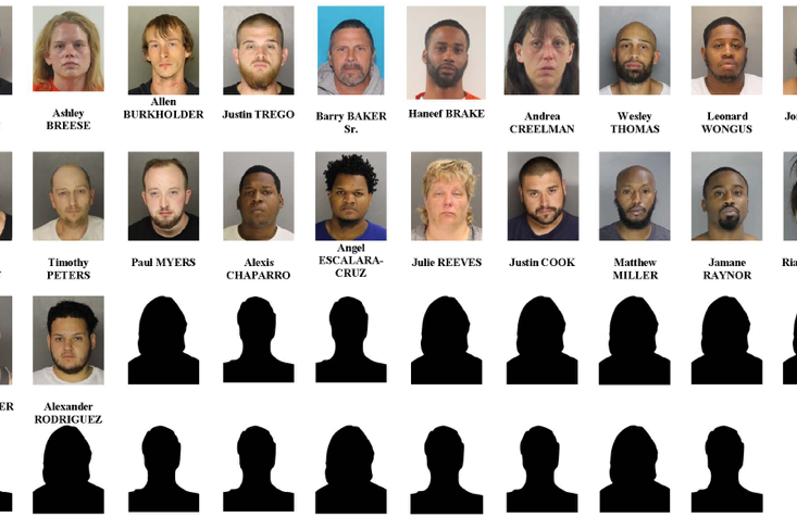 46 arrested in drug bust as Chester County works to curb