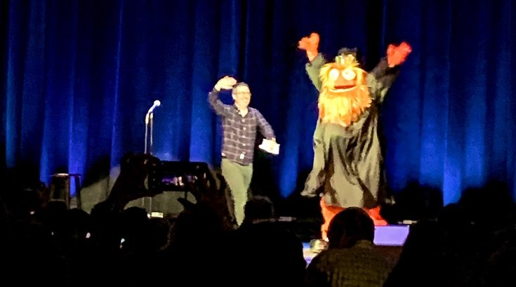 123118 John Oliver Gritty The Met