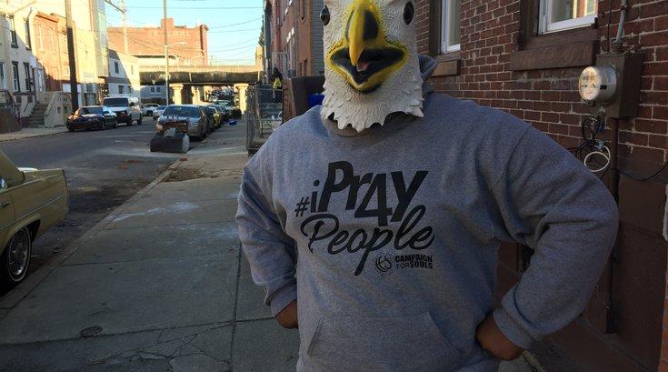 Eagles Mask Man