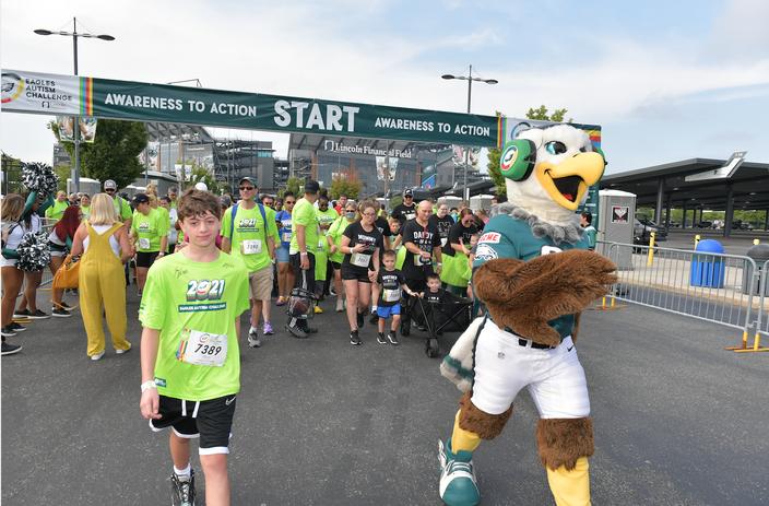 Limited - Eagles Autism Challenge Walk