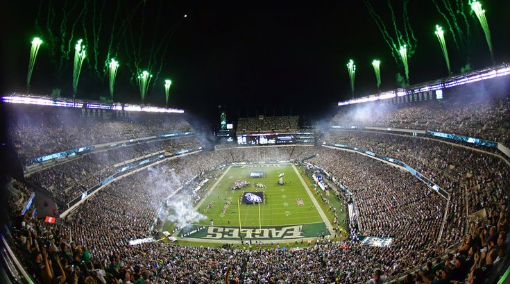 Eagles NFL season opened Linc