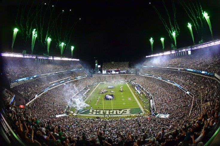 Eagles NFL season opened Linc