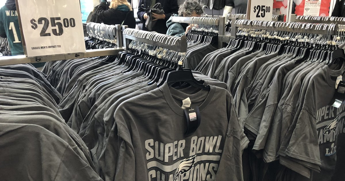 71a41611a Eagles fans are buying the most Super Bowl merch ever