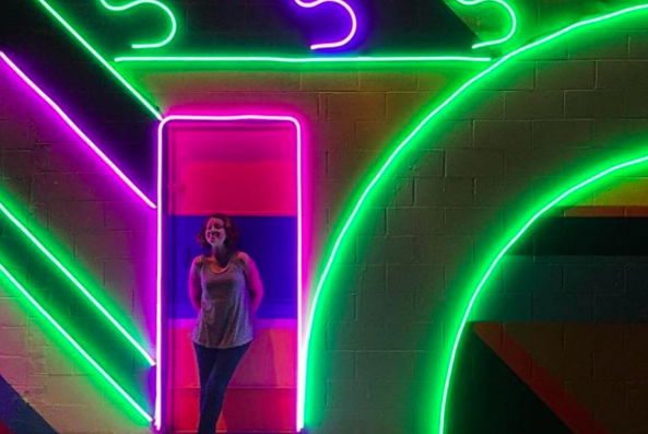 electric light mural shines first in south philly s mysterious