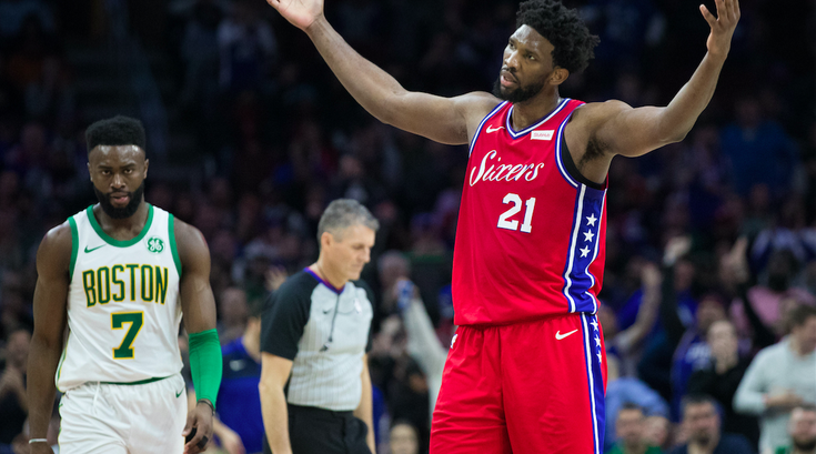 Joel Embiid Jalen Brown