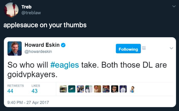 Eskin-Twitter-good-players