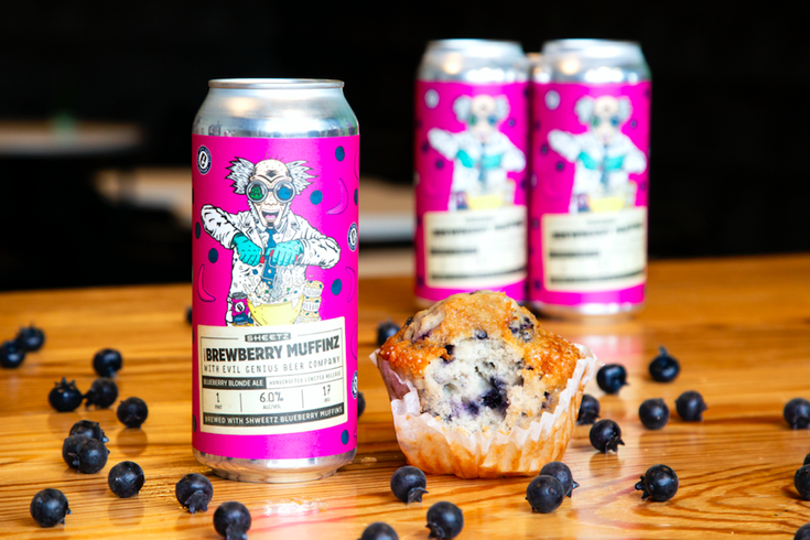 Evil Genius creates beer using Sheetz blueberry muffins