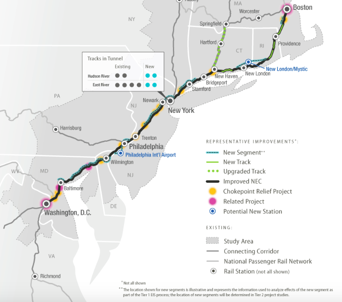 Renewed hopes for 220 mph bullet train from Philly to Baltimore ...