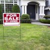 For Sale by Owner Sign Outside of Home