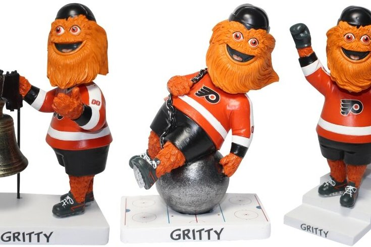 3 Gritty bobbleheads make their debut