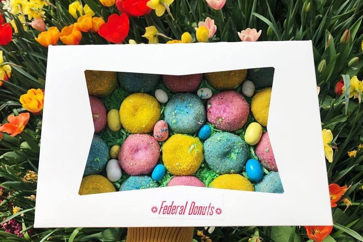 Federal Donuts Easter Minis available Easter weekend