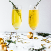 festive cocktail stock image
