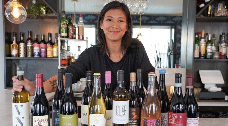 Fishtown Social wine tasting