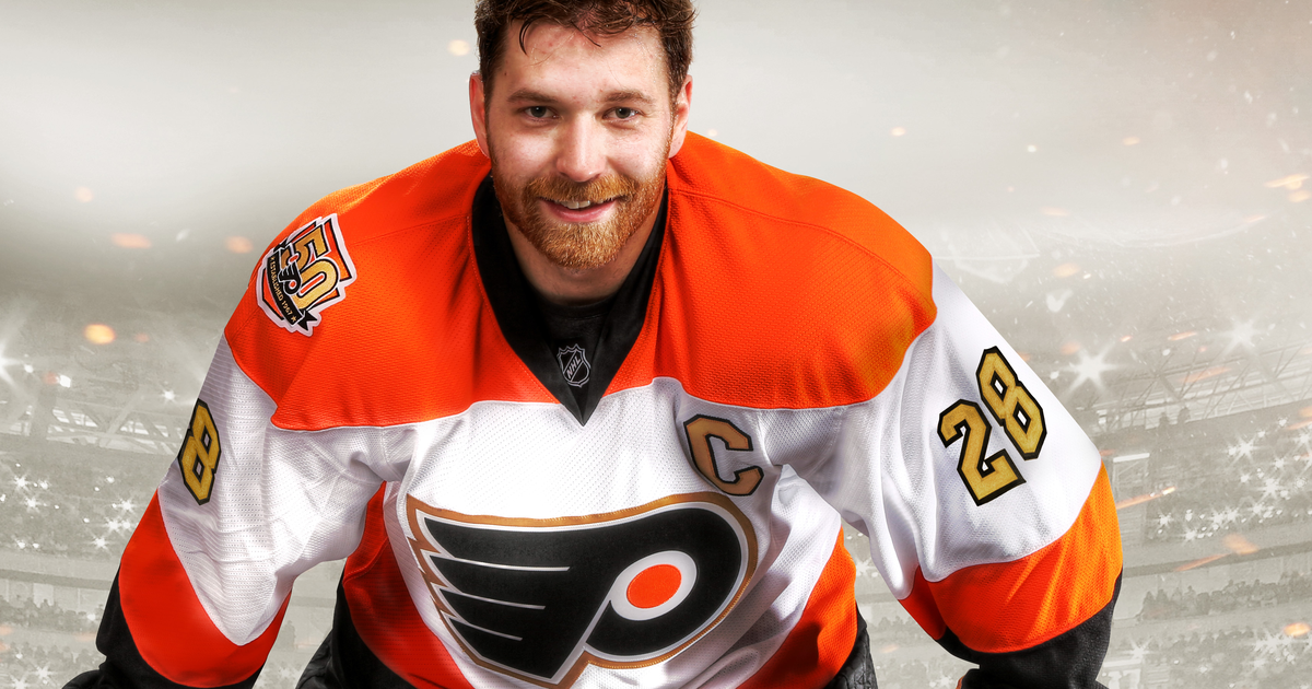 flyers 50 year anniversary jersey