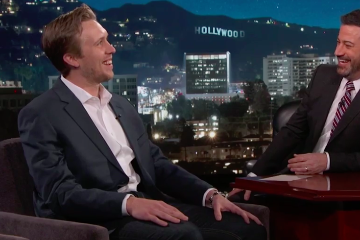 Nick Foles Jimmy Kimmel