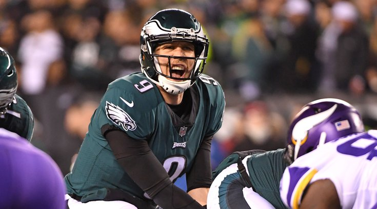 Foles Vikings Philly
