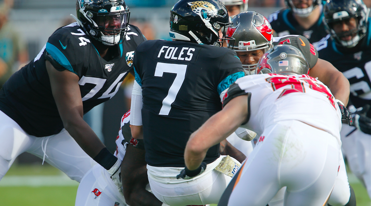 Foles Benched Jags