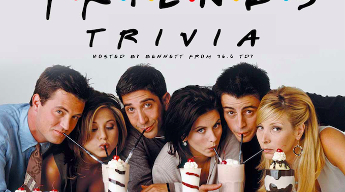 """""""Friends"""" Trivia at Punch Line Philly"""