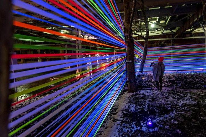 georgetown glow light exhibit