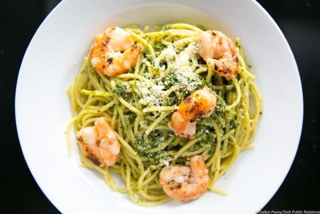 Pasta dish at Gigi