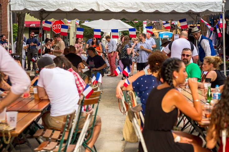 Bastille Day at Good King Tavern
