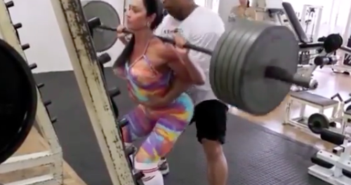 Brazilian woman prank big ass Watch Instagram Weightlifting Star Accused Of Fake Plates Fake Butt Phillyvoice