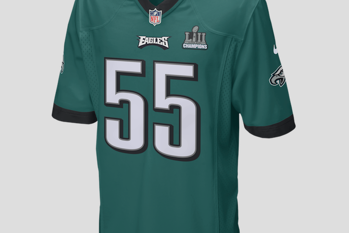 Patch Apparel Eagles Source Fanatics. Limited Edition Eagles Super Bowl LII  patch jersey. 78179823a