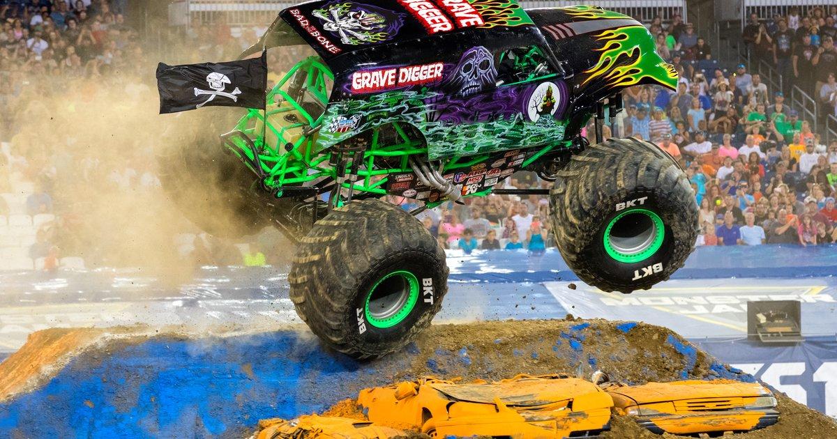 Monster Trucks Coming To Philly For Monster Jam At Lincoln