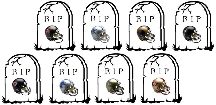 Graveyard after Week 13
