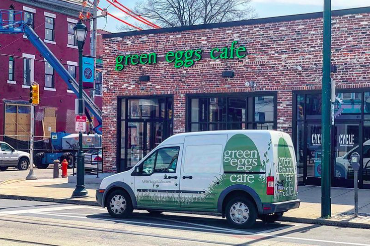 Green Eggs Cafe Main
