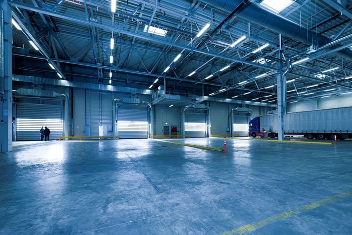 Commercial warehouse real estate