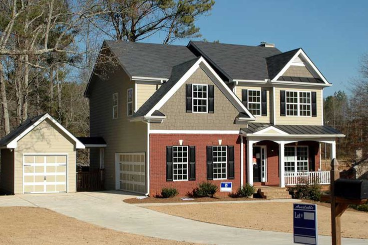 Single Family Home rendering exterior