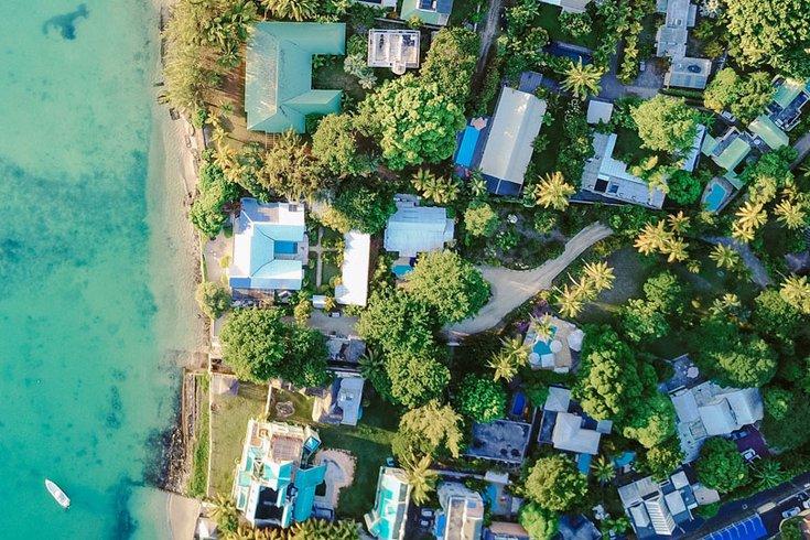 Southwest Florida Homes Aerial View