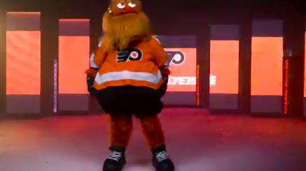 Flyers Gritty Mascot