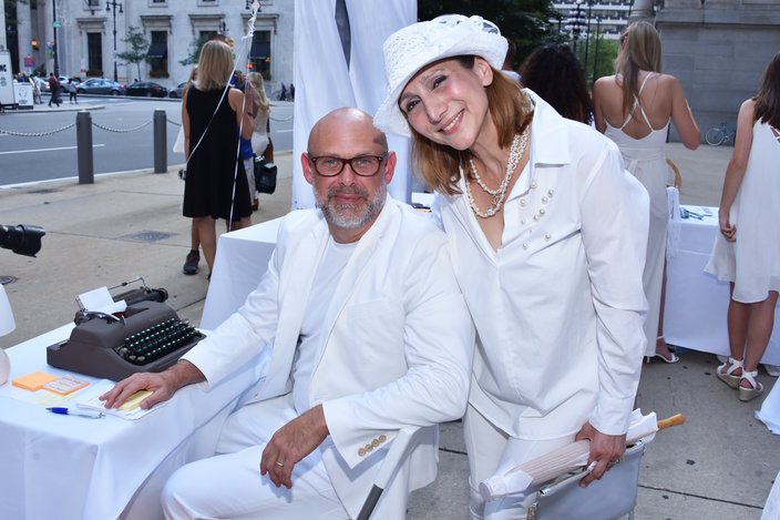 Dillon -  Dner en Blanc at City Hall