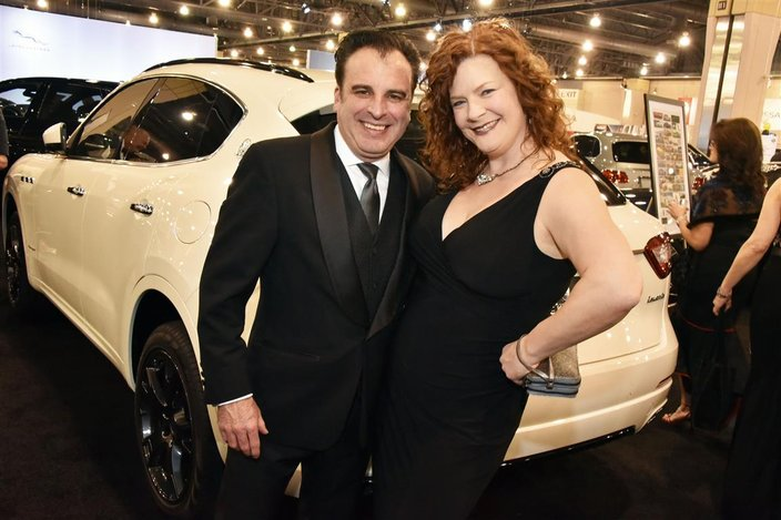PHOTOS The Philly Auto Show Black Tie Tailgate PhillyVoice - Black tie event philadelphia car show