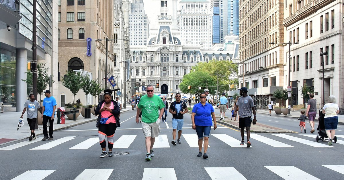 Philly Free Streets 2019: Times, activities and locations