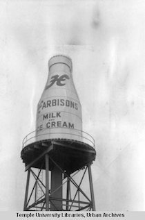 Harbisons milk and ice cream - Temple libraries