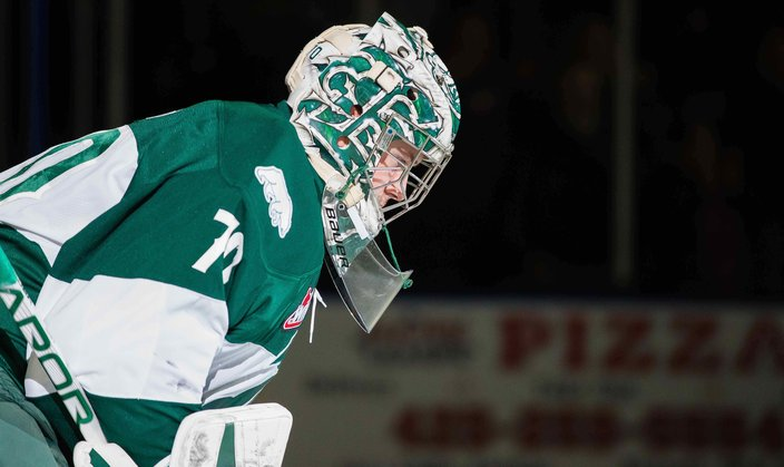 ce2f18489bf Chris Mast Everett Silvertips. Flyers goalie prospect Carter Hart.