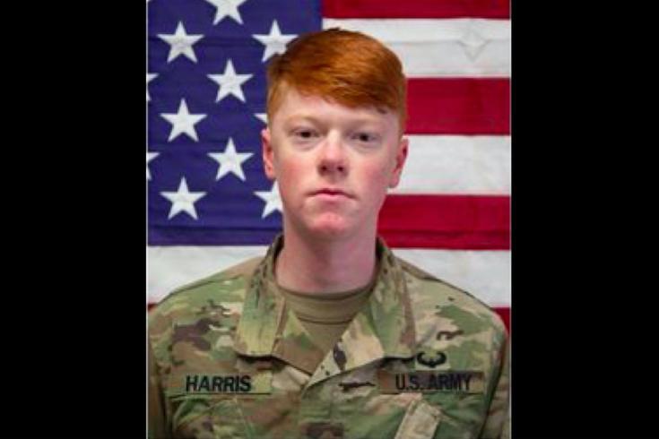 20岁的美国陆军下士海登-哈里斯星期六在新泽西州苏塞克斯县被发现死亡。调查人员称,23岁的Jamaal Mellish是驻扎在纽约州北部德拉姆堡的一名同僚,他绑架了哈里斯,并向他开了致命的枪。(photo:PhillyVoice)