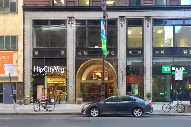 HipCityVeg on Broad Street