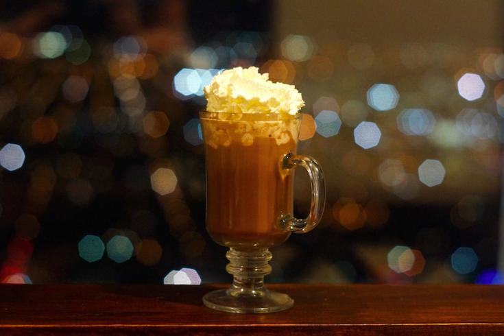 Hot Chocolate at SkyGarten