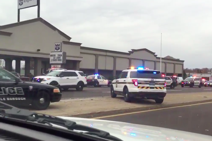 Reports: Police swarm Trevose motel after shots at cops