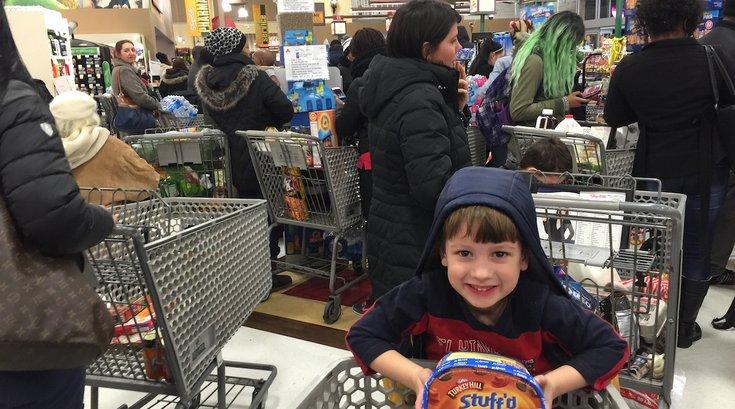 Blizzard Shopping