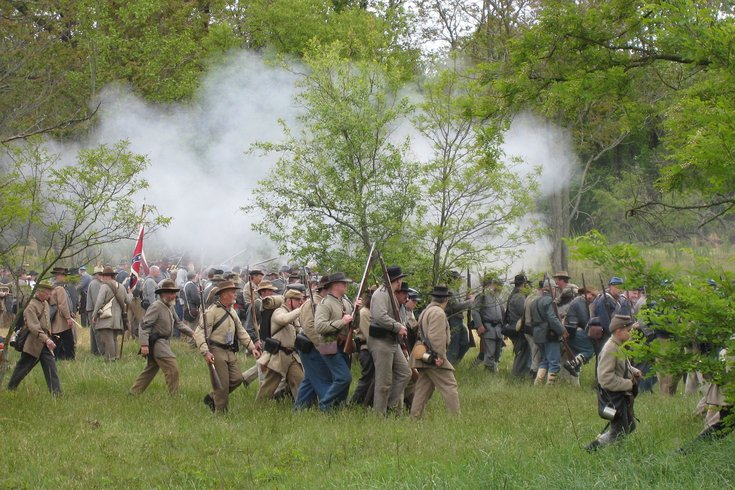 Neshaminy State Park hosts 26th annual Civil War reenactment