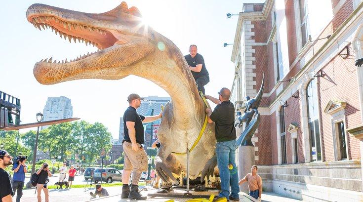 Carroll - Dinosaurs at Academy of Natural Sciences